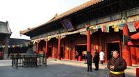 Ancient Beijing Beijing Hutong Lama Temple Jingshan Park and Olympic Stadium by bus