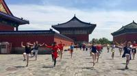 Full Day Culture Tour Tai Chi Class at Temple of Heaven Forbidden City Tiananmen Square