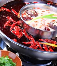 Hot Pot Dinner Social Experience for 2 Including One-Way Transfer in Chengdu