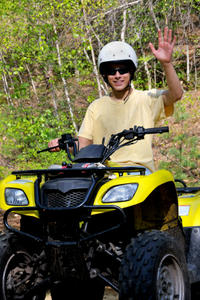 St Lucia Shore Excursion: ATV Tour