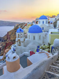 Private Arrival Transfer: Santorini Airport or Cruise Port to Hotel
