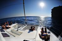 Santorini Caldera Cruise Including Buffet and Drinks