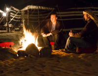Private Tour: Night Desert Luxury Safari with Transport from Dubai