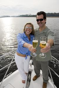 Champagne Sunset Cruise in Providenciales