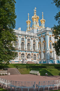 St Petersburg Shore Excursion: Private Pushkin and Peterhof
