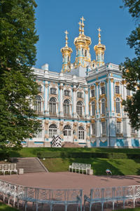 St Petersburg Shore Excursion: Private Pushkin, Peterhof and Metro Station Tour