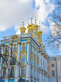 St Petersburg Shore Excursion: Small-Group Pushkin, Peterhof and Metro Station Tour