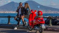Self-driven Audioguided Vespa Tour of Naples - Opt B (1 customer, 1 vehicle