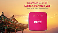 South Korea 4G LTE Portable WiFi with Incheon Airport Pick-Up Private Car Transfers