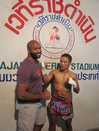 Muay Thai Kickboxing with Ringside Seats and Private Transfer
