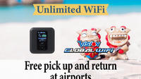 Japan 4G LTE Unlimited WiFi Hotspot Rental at Naha Airport Private Car Transfers