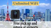Unlimited WiFi in Japan pick up at Narita Airport Private Car Transfers