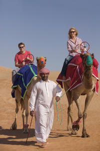 Dubai Combo: Helicopter Flight and Desert Camp Experience by 4x4