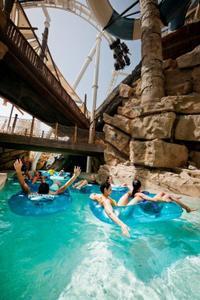 Yas Waterworld Entrance Ticket Including Transport from Dubai