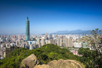 Taipei in Motion: City Day Tour by Bike, Metro and Foot