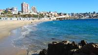Coastal Viña del Mar and Historic Valparaiso from Santiago