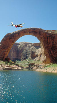 Airplane Tour of Rainbow Bridge, Lake Powell and Glen Canyon Dam