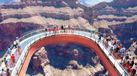 Best of the West Rim: Grand Canyon Air Tour with Optional Helicopter, Boat Ride and Skywalk Admissio