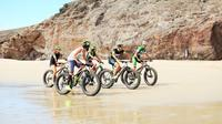 Fatbike Tour through Papagayo Beaches and Ajaches Mountains