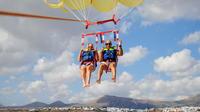 Parascending and Crazy UFO in Lanzarote