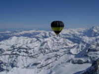 Hot Air Balloon Flight over Piedmont from Turin