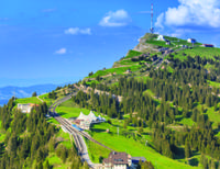 Independent Mount Rigi Tour from Lucerne Including Lake Lucerne Cruise