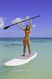 South Lake Tahoe Stand-Up Paddleboard Rental