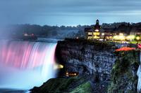 Niagara Falls Night Tour with Dinner and Cruise