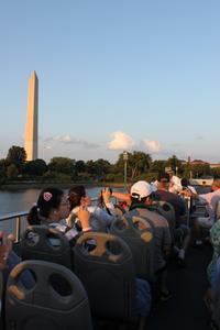 Hop-On Hop-Off Washington DC Bus Tour