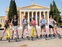 Central Athens Highlights Small Group Tour by TRIKKE
