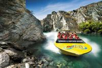 Private Arrival Transfer: Queenstown Airport to Hotel by Jet Boat Private Car Transfers