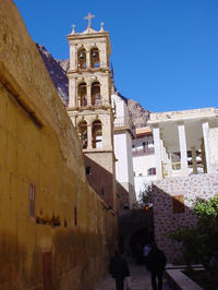 Egyptian Desert Experience: St Catherine's Monastery, Bedouin Lunch, and Nawamis Tombs from Sharm el Sheikh