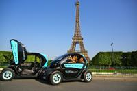 Electric Car Tour of Paris with GPS Audio Guide