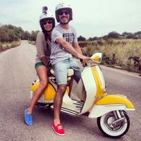 Ibiza Shore Excursion: Countryside and San Antonio Bay Tour by Vintage Vespa