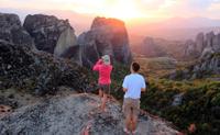 Meteora Sunset Walking Tour from Kalampaka including Badovas Hermitages*