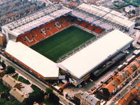 Liverpool FC Football Match at Anfield Stadium