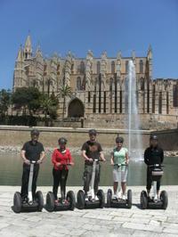 Palma de Mallorca Segway Tour Including Palma Cathedral and Portixol