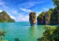 Phang Nga Bay Tour from Phuket by Traditional Junk Boat