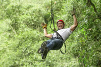 Rainforest Canopy Zipline Adventure from Bangkok