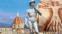 Florence Uffizi Gallery and Chianti Wine Tasting Small Group Tour by Minivan from Lucca