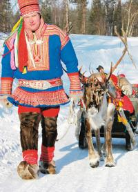 Lapland Reindeer Safari from Rovaniemi Including Husky Sled Ride