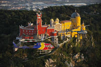 Private Tour: Lisbon Helicopter Flight Including Sintra and Queluz National Palace