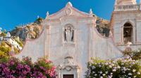 Shared Transfer: Palermo to Taormina with Villa Romana del Casale Tour