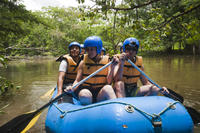 Palenque Combo Tour: Bonampak Archaeological Site and Lacanjá River Rafting