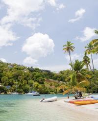 St Lucia Combo Tour: Jungle Biking and Snorkeling Adventure