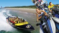Gold Coast Combo: Jet Boat Ride and Sea World Theme Park Admission