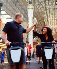 Las Vegas Segway Tour: South Fremont Street