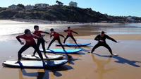 Surf Class with Professional Instructor in Basque Country