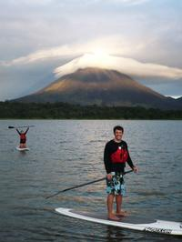 Lake Arenal Stand-Up Paddleboarding Lesson