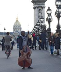 Paris Walking Tour: Jazz Evening with Dinner and Concert
